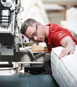 Herstellung Schramm Matratze