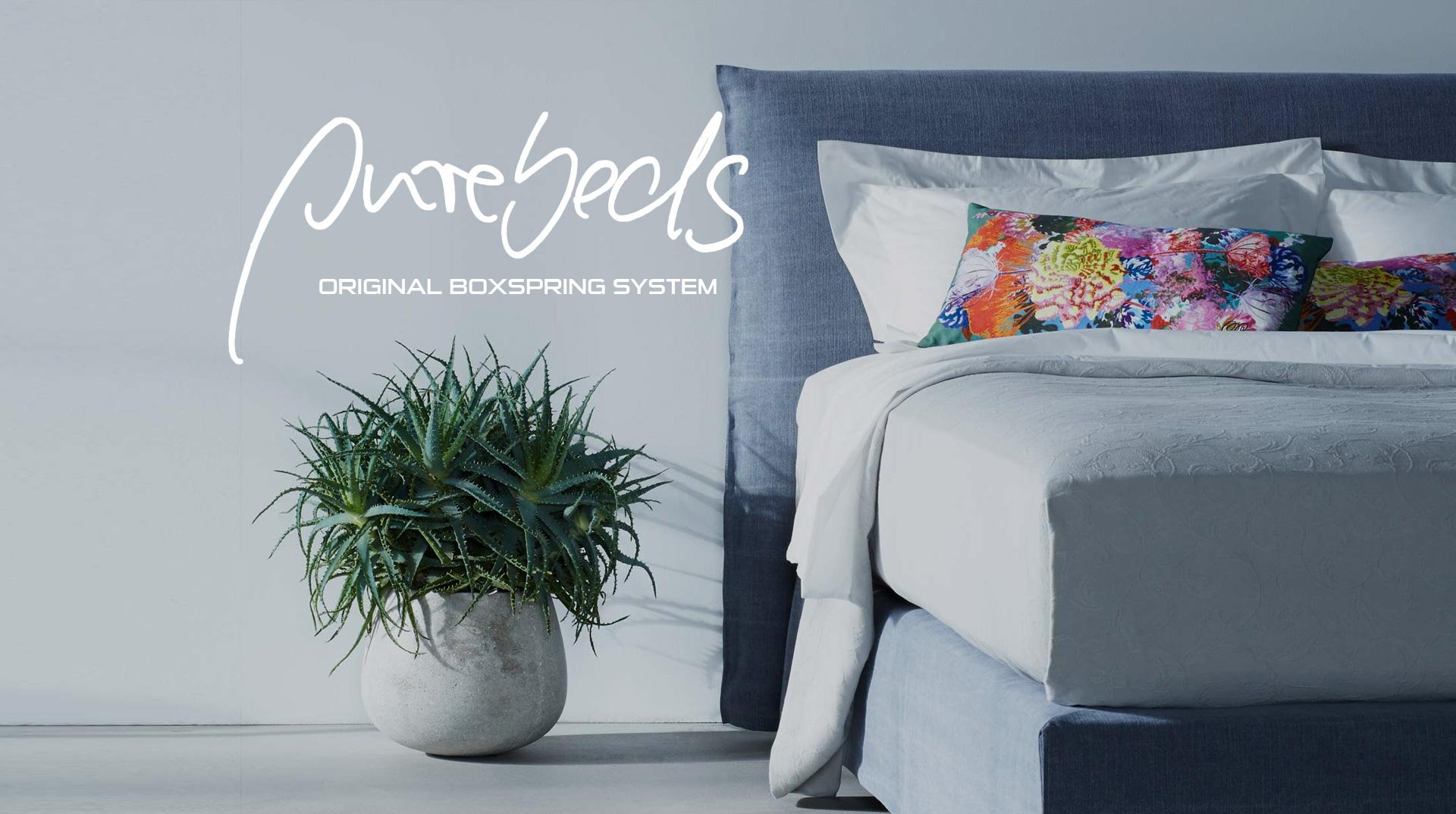 schramm purebeds schramm boxspringbetten in berlin. Black Bedroom Furniture Sets. Home Design Ideas